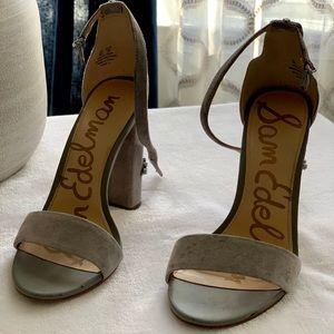 Sam Edelman Yaro 2 size 6M Suede Gray Sandal